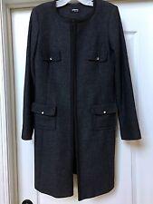SINEQUANONE Paris Gorgeous And Elegant Wool Coat, Size FR 42/ US 10