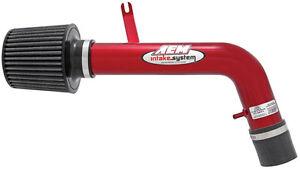 AEM Short Ram Air Intake System - Red Tube fits 1994-2001 Acura Integra 1.8L L4