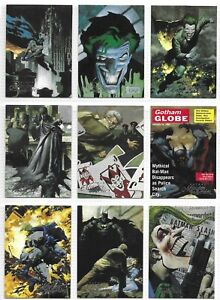 1995 DC BATMAN MASTER SERIES COMPLETE 90 CARD BASE SET + SCARCE PROMO CARD NM