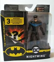 """2020 DC Spin Master The Caped Crusader Nightwing Robin 4"""" Action Figure"""