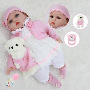 22 inch simulation doll handmade vinyl soft silicone newborn doll gift