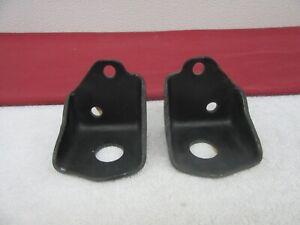 NOS 1955-1959 Chevy Passenger Truck Engine Front Motor Mounts 1 Pair L and R dp