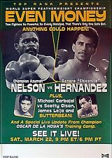 AZUMAH NELSON vs GENARO CHICANITO HERNANDEZ 8X10 PHOTO BOXING POSTER PICTURE