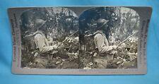 WW1 Stereoview Photo Fire Spray Captured From Austrians Capitello Italy Keystone