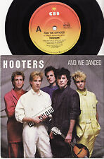 THE HOOTERS - AND WE DANCED Very rare 1985 Aussie P/S Single Release!