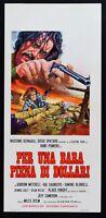 L106 Plakat Für Ein Sarg Voller Von Dollars, Miles Halten, Spaghetti Western