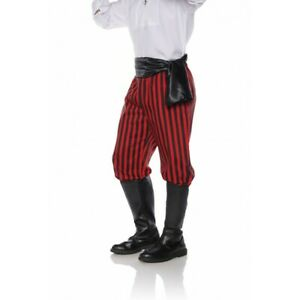 Underwraps Pirate Buccaneer Swashbuckler High Seas Halloween Costume Pants 28825