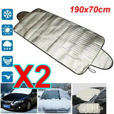 2X Car Windscreen Windshield Frost Cover Ice Snow Shield Front Window Protector