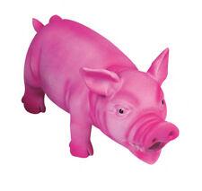 Karlie Latexschwein Latexspielzeug für Hunde 22 cm pink