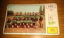 FIGURINA CAMPIONI dello SPORT PANINI 1967 - # 490 - RUGBY AQUILA - NUOVA
