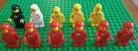 11x Lego Space/Astronaut Minifigures Retro Vintage