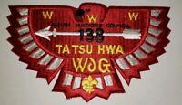 Boy Scout OA Lodge 138 Ta Tsu Hwa Jacket Patch J2