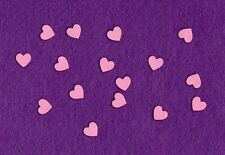 HEARTS TINY # 2 die cuts scrapbook cards