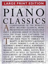 The Library of Piano Classics Large Print Ed. Sheet Music Piano Solo 014019044