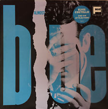 ELVIS COSTELLO AND THE ATTRACTIONS Almost Blue LP 1981