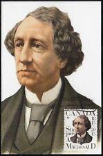 CANADA #2804.1 - SIR JOHN A. MacDONALD, CANADA's 1st PRIME MINISTER. MAXICARD #1