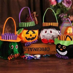 Halloween Candy Bags Cute Gift Pumpkin Bags Witch Candy Boxes Halloween Decor