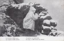 C190) WW1 ALPINO IN VEDETTA A 3000 METRI.