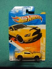 2011 Hot Wheels 3/244 New Models '10 Ford Shelby Gt500 Super Snake - Yellow