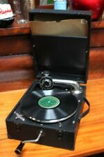 Vintage Portable Wind up Gramophone - Free Shipping [5327]