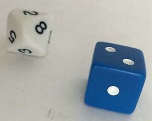 Camel UpGray Six-Sided Die DiceOfficial Extra//Replacement Game Piece