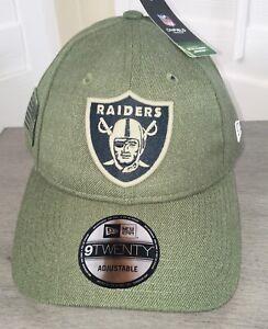 New Era 9Twenty Adjustable Las Vegas Raiders Salute To Service NFL Collection