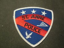 ST. ANNE IL  POLICE PATCH
