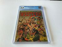 PRIZE COMICS WESTERN 95 CGC 3.0 PRE CODE JOHN SEVERIN WESTERN PRIZE 1952