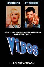 Vibes   - [DVD] Cyndi Lauper,  Jeff Goldblum, Peter Falk  BRAND NEW