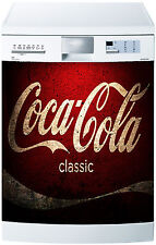 Sticker dishwasher deco kitchen appliances Coca Cola ref 648 60x60cm