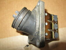 1988 Honda CR 125 Intake Reed assembly New Reeds with boot Good Condition