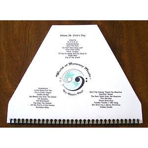 Zither Lap Harp Sheet Music ~ Child's Play Duet Parts; Children's Favorites