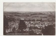 Totnes From Windmill Down Hill Vintage Postcard 064a