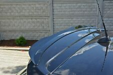 Dachspoiler schwarz Ansatz Heckspoiler für Opel Astra H OPC Spoiler Dach Kanten