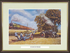 """Traction Engine picture """"In Days of Steam"""" by Trevor Mitchell - NGN51"""
