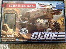 GI JOE THE PURSUIT OF COBRA DESERT BATTLE COBRA HISS TANK BOX SET WITH DRIVER