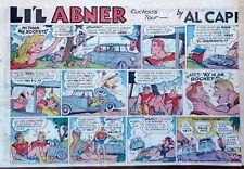Li'l Abner by Frank Frazetta - large half-page Sunday color comic, Dec. 20, 1959