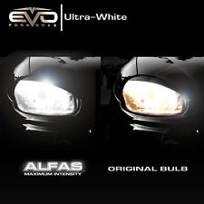 EVO Formance Alfas H11 Halogen Headlight Bulbs Xenon HID Max Intense White 4300k