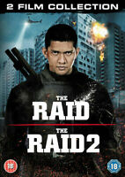 The Raid/The Raid 2 DVD (2014) Iko Uwais,  cert 18 2 discs ***NEW***MARTIAL ARTS