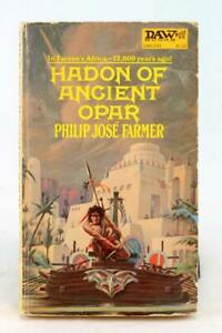 Philip Jose Farmer 1974 Hadon of Ancient Opar Tarzan Vintage Paperback