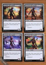 Unstable Extremely Slow Zombie 4x Set *Summer * Fall * Winter * Spring *NM* MTG