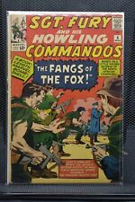 Sgt Fury and His Howling Commandos #6 Marvel Silver Age Comics 1964 Stan Lee 3.5