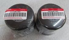 2pcs Genuine Honda Motorcycle Oil Filter 15410-MFJ-D01 Gold Wing, VTX, CBR