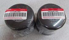 2pcs Genuine Honda Motorcycle Oil Filter 15410-MFJ-D01 Gold Wing, VTX, CBR