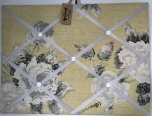 Hand Made Fabric Notice Board In Annie Sloan Fabric