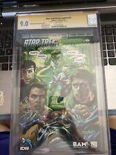 Star Trek / Green Lantern 1 CGC 9.0 7/15 1X Auto Neal Adams 92 out of 150 {CGC1}