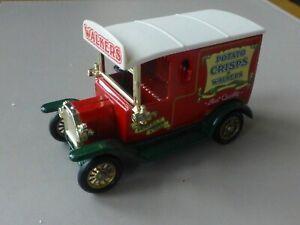 Lledo Die Cast Promotional Model Ford Van Potato Crisps by Walkers