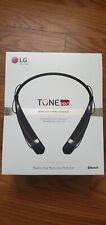 New listing Lg Hbs-760 Tone Pro Black Bluetooth Wireless Stereo Headset New