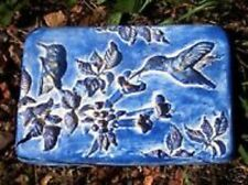 Hummingbird mold concrete plaster resin garden casting plaque  mould.