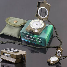 New Professional Pocket Military Army Geology Compass for Outdoor Hiking Camping